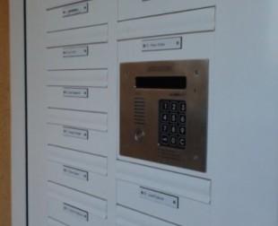 prístupové systémy, poštové schránky