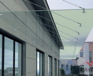 sklenené prístrešky