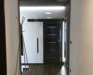 sklenené dvere